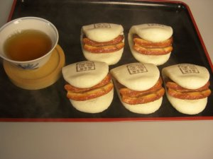 豚角煮バーガー5個セットイメージ