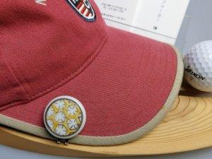 画像3: 清水焼ゴルフマーカー(2)上絵(色物)タイプ