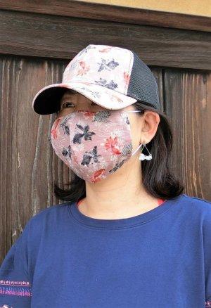 画像1: 着るマスク!気分上げて!マスクコーデ きんとと家オリジナル!