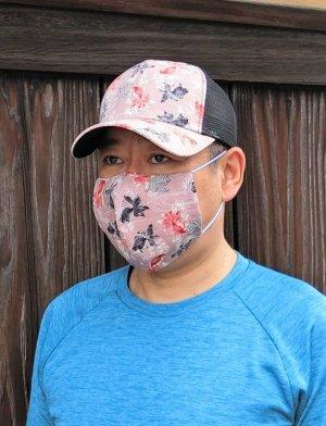 画像2: 夏マスク&CAP コーデ きんとと家オリジナル!